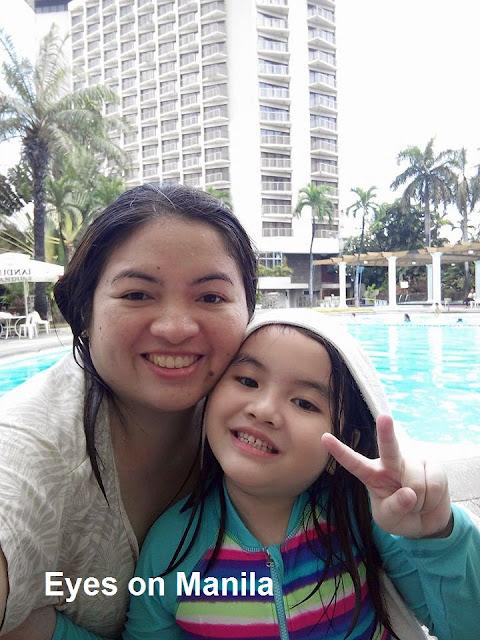 Century Park Hotel Swimming Selfie