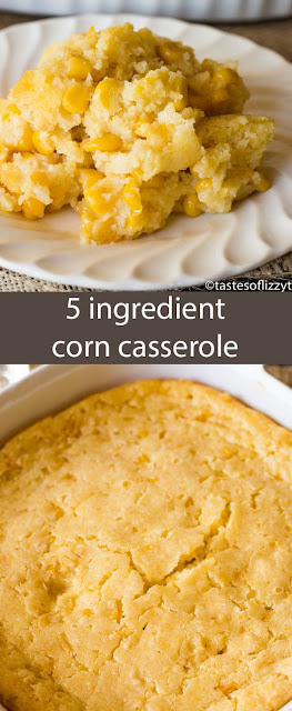 5 INGREDIENT CORN CASSEROLE
