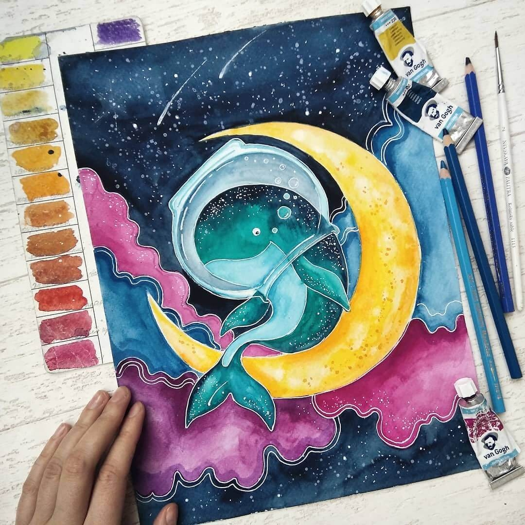 09-Conquering-the-Moon-Katya-Goncharova-9-Whale-Paintings-and-1-Giraffe-www-designstack-co