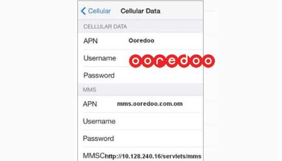 طريقة خطوات تفعيل الانترنت شركة الاتصالات العمانية اريدو