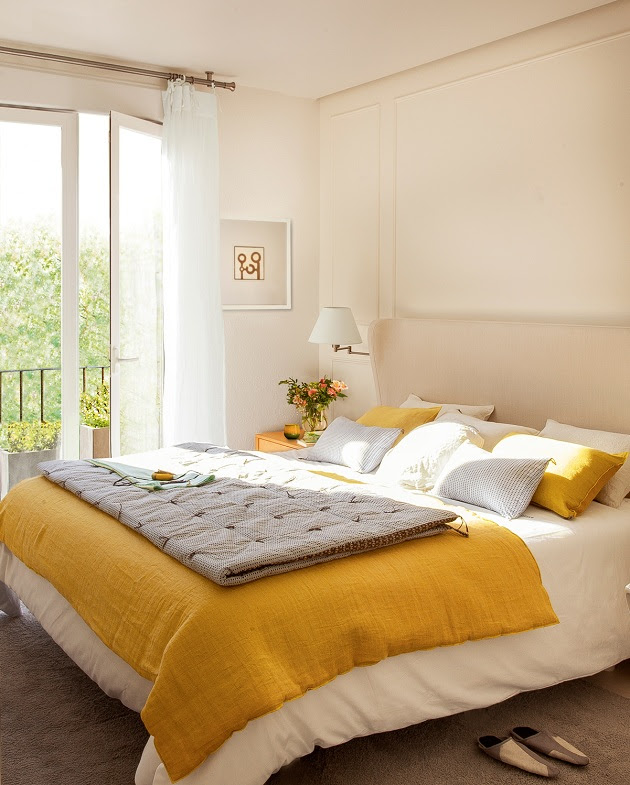 15 Cheery Yellow Bedrooms Hgtv, Bedrooms and Nursery