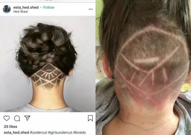 22 Epic Fails By Women Who Tried To Change Their Looks
