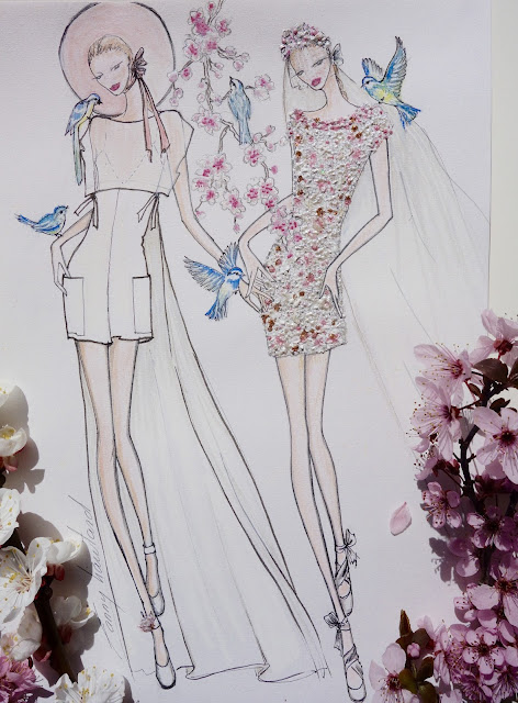 robe de mariage, collection créateur