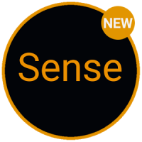 Sense Black Orange cm13 theme 1.11