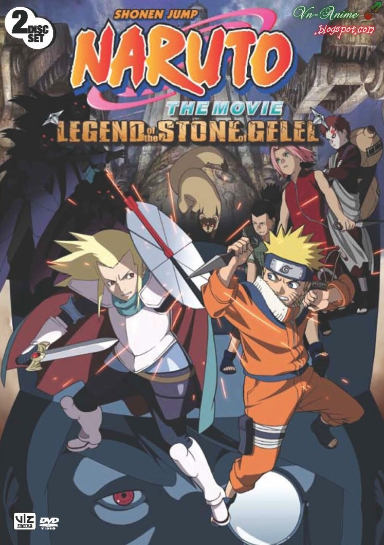Kết quả hình ảnh cho Naruto the Movie: Legend of the Stone of Gelel poster