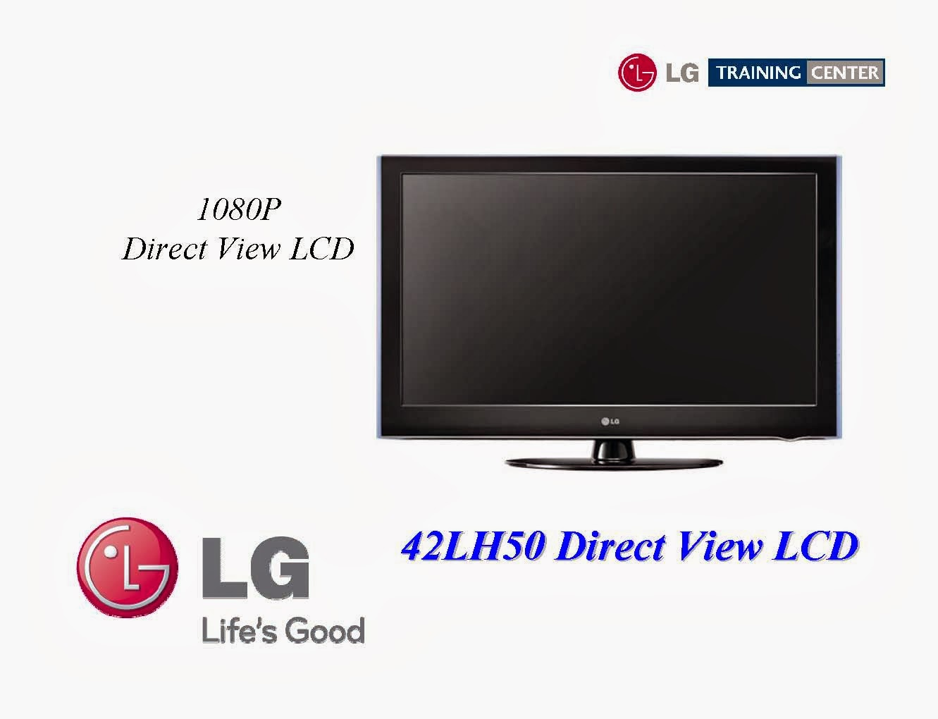 LG 42LH50 LCD (EEFL-Ballast) TV Training Manual