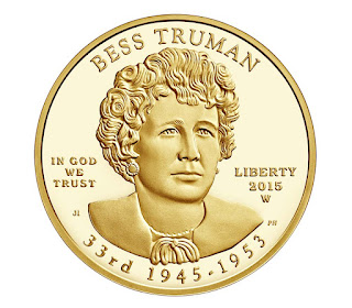 US Gold Coins Bess Truman 10 Dollars First Spouse Gold Coin