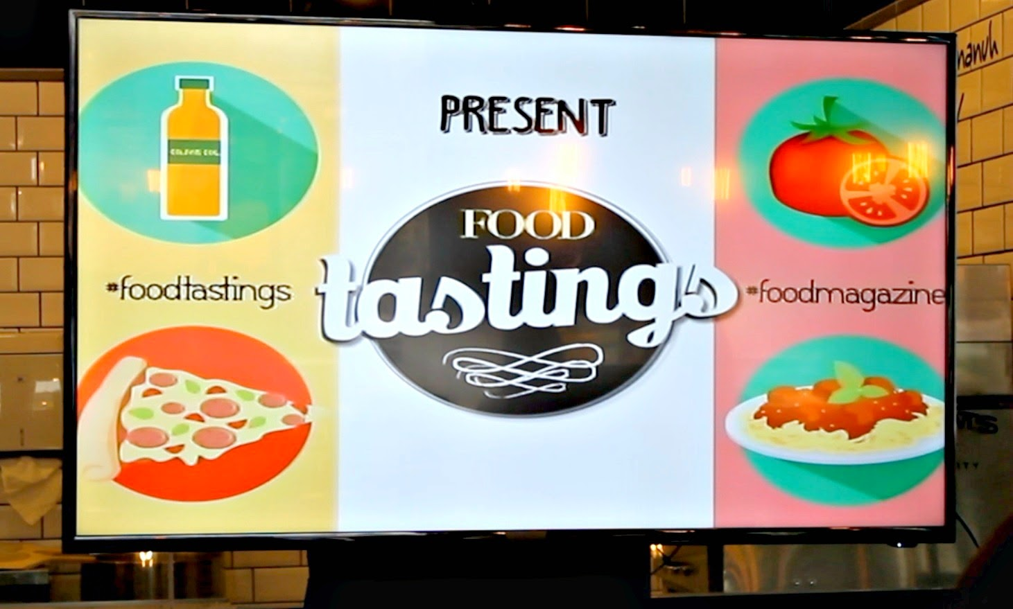 Food Tastings: A Pizza and Pasta Class by Food Magazine