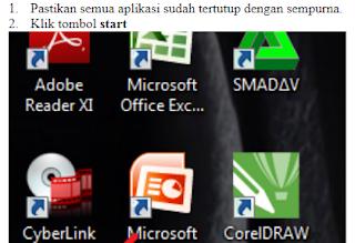 Cara Menon-aktifkan Perangkat Komputer Pada PC Berbasis Windows 7