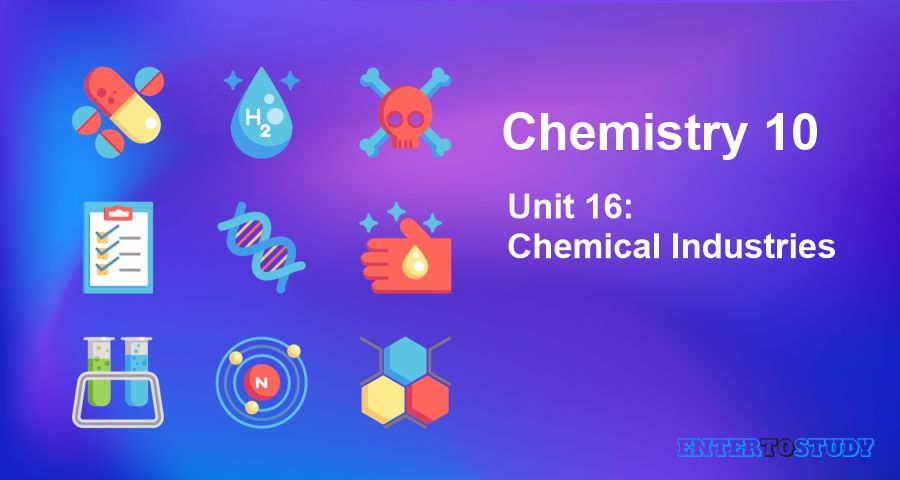 KIPS 10th Class Chemistry Notes Unit 16: Chemical Industries