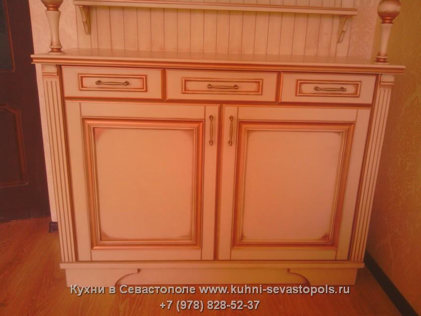 Буфеты для кухни из дерева Севастополь