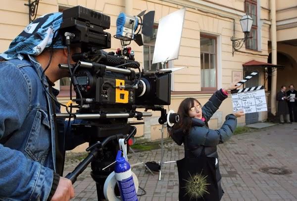Съемка фильма в Симферополе
