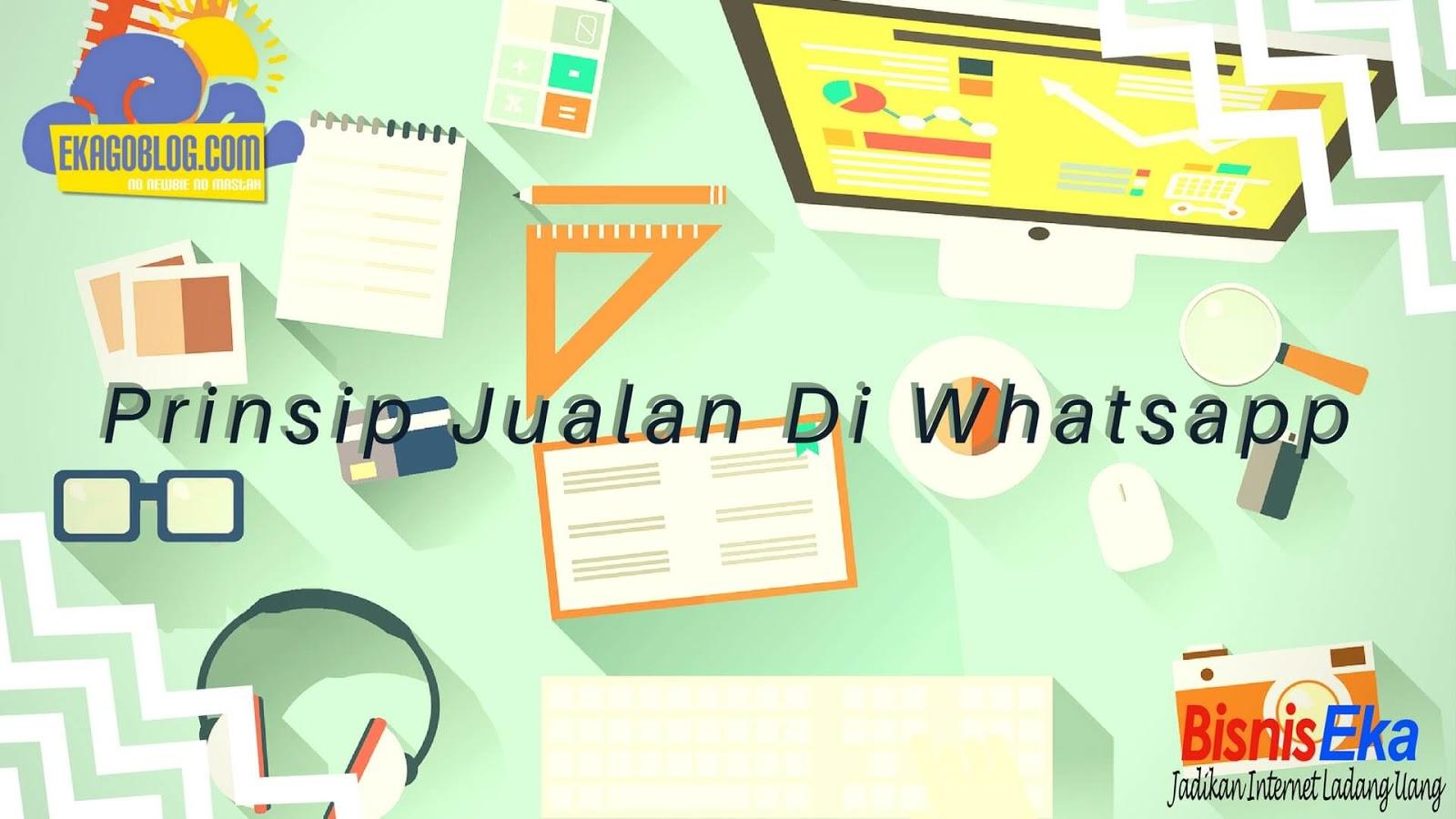 Prinsip Jualan Di Whatsapp