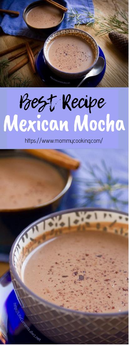 Mexican Mocha #healthydrink #easyrecipe