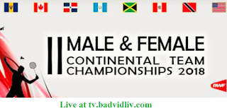 M&F Pan Am Team Continental Championships 2018 live streaming