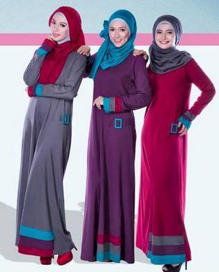 Busana Muslim Bahan Kaos
