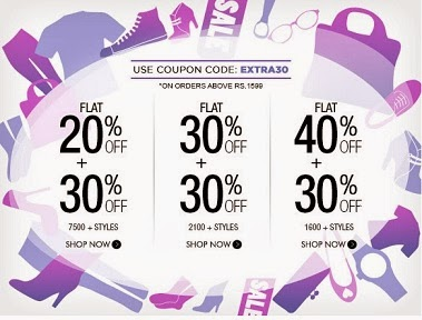 Myntra Offer: Flat 40% Off + Flat 30% Extra Off | Flat 30% Off + Flat 30% Extra Off | Flat 20% Off + Flat 30% Extra Off On Men's / Women's Fashion Styles