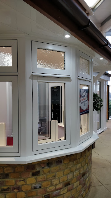 Window display at SEH BAC Showroom, Chelmsford, Essex