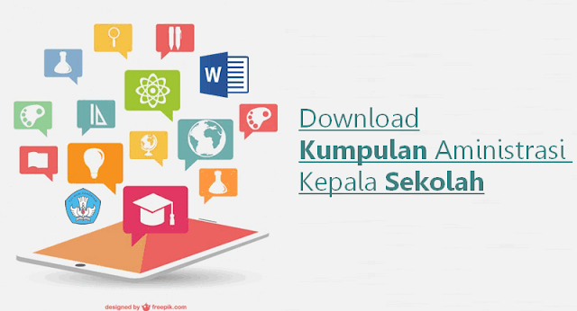 Download Kumpulan Aministrasi Kepala Sekolah Microsoft Word