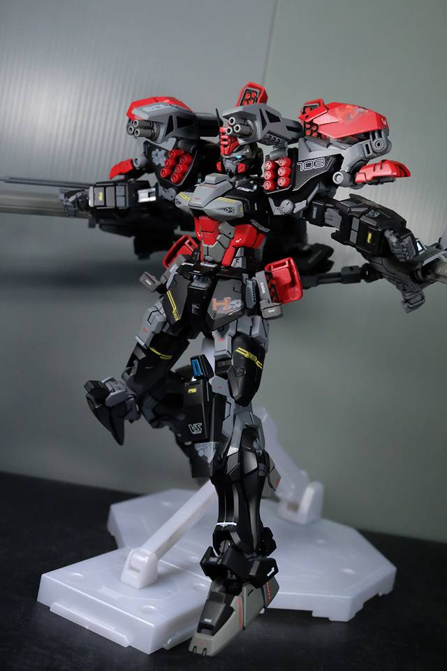 Custom Build: MG 1/100 Hail Buster Gundam