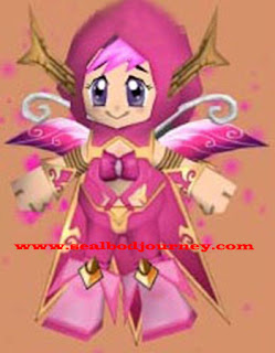 Pink Fairy Dryad Seal Online BoD