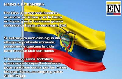 himno bandera ecuador