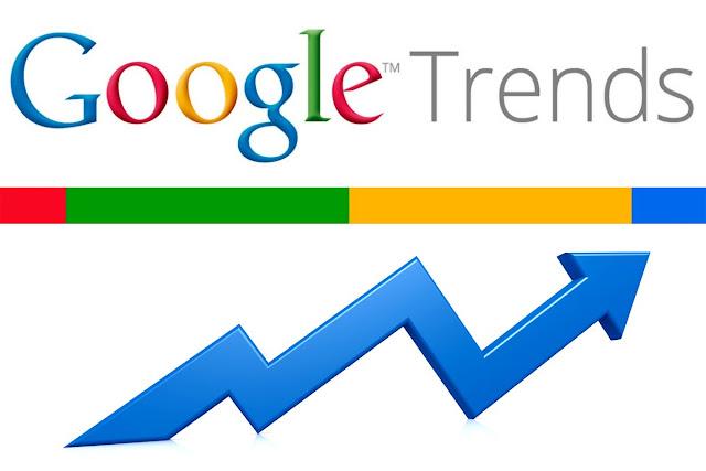 logotipo da Google Trends