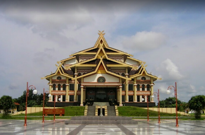 Tempat Wisata di Kota Pekanbaru Kompleks Bandar Serai Raja Ali Haji - Purna MTQ Riau