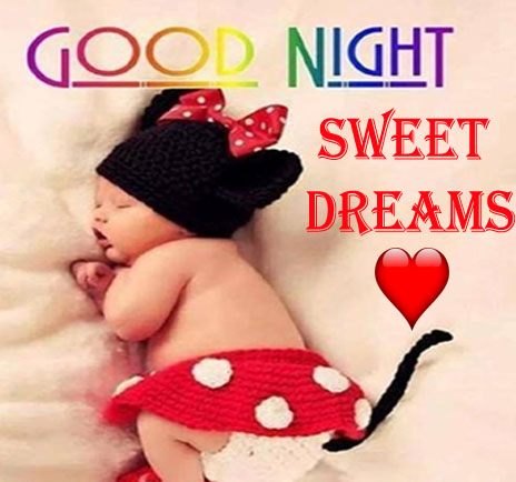 Good Night Cute Baby Pics for Whatsapp