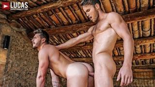 Josh Rider Bottoms For Marq Daniels' RAW Uncut Cock