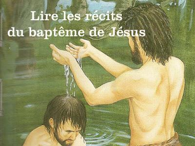 lire les recits du baptême de jesus
