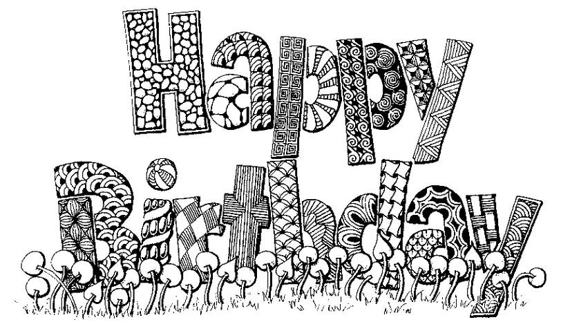 birthday coloring cards Kaysmakehaukco