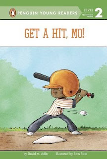 bookcover from GET A HIT, MO!  by David Adler