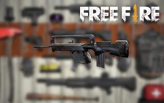 senjata terbaik free fire famas