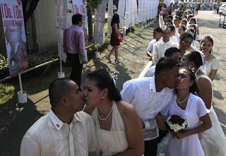 Pernikahan Massal Di Filipina