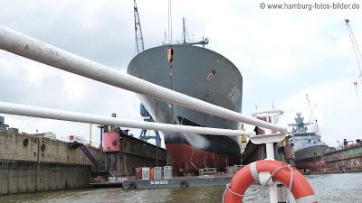 Hafenrundfahrt Hamburg Marineschiffe