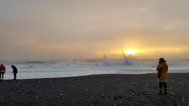 Iceland Reynisfjara Beach