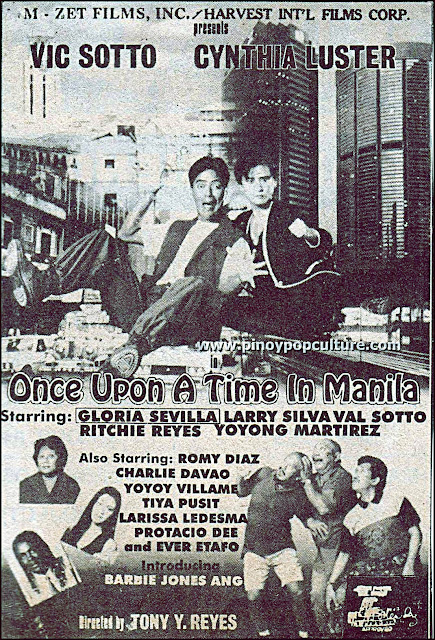Once Upon a Time in Manila, Vic Sotto, Cynthia Luster, Tony Y. Reyes