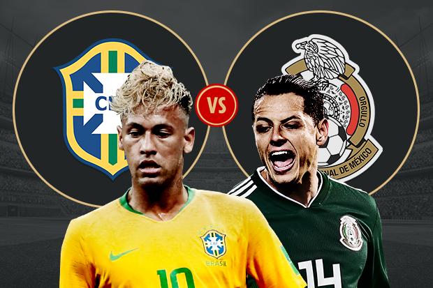 البرازيل والمكسيك