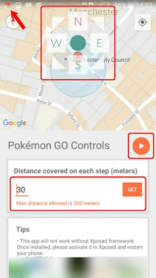 Pokémon GO Controls Xposed Module di Android.1