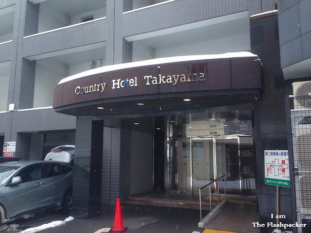 Country Hotel Takayama - Entrance