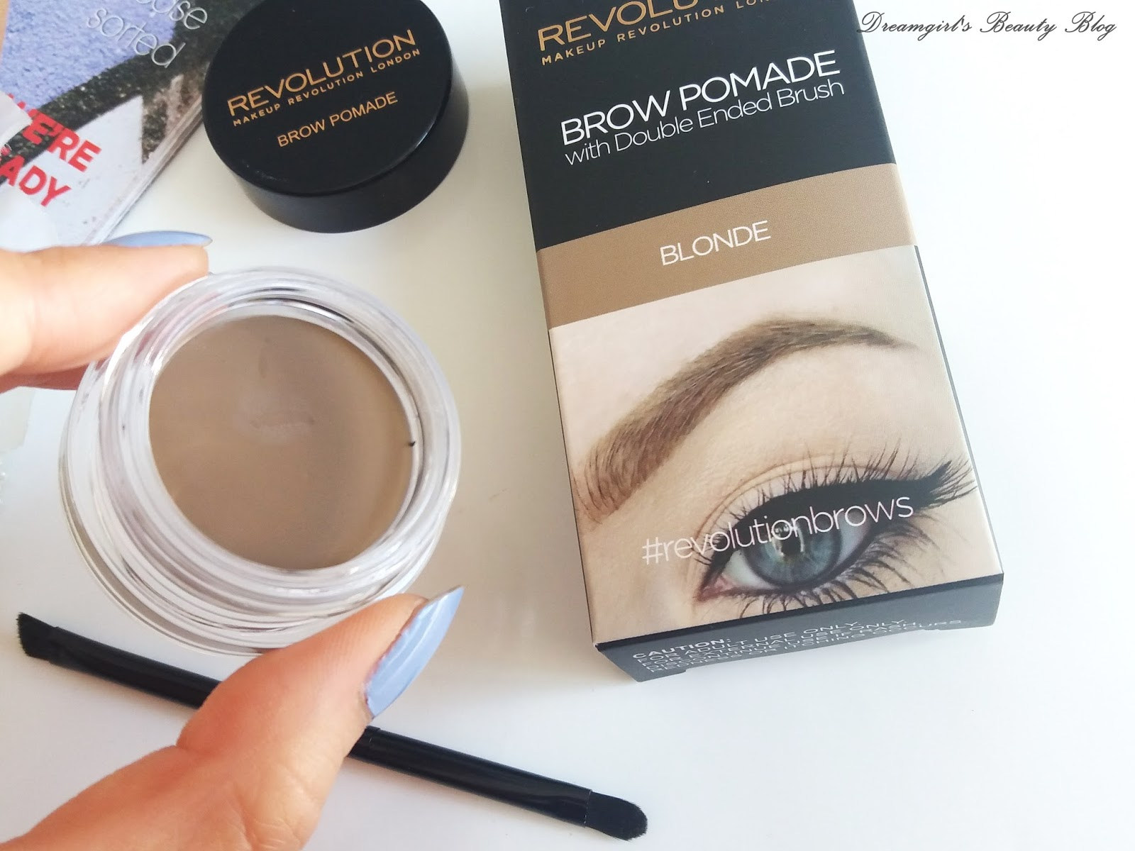 Картинки по запросу makeup revolution brow pomade