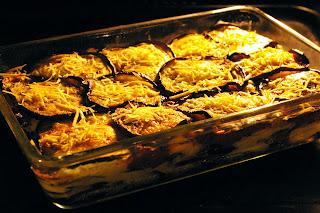 zapiekanka z bakłażanów w piekarniku