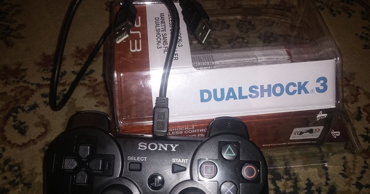 How to Connect PS3 Controller (Original/Fake) or Dualshock 4 to your