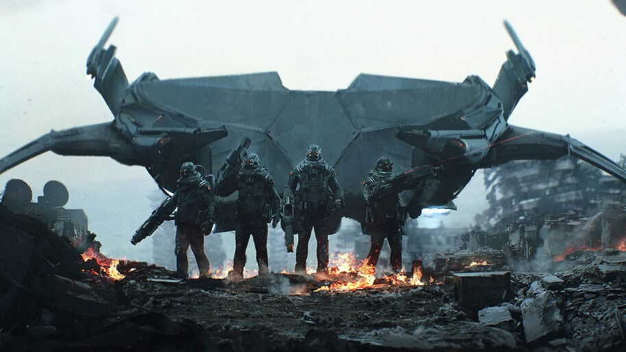 Sci-Fi, Soldiers, 4K, #4.1015