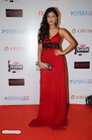 ishita Raj Sharma in Red Gown Stunning Beauty at success party of film sonu ke u ki sweety 005.JPG