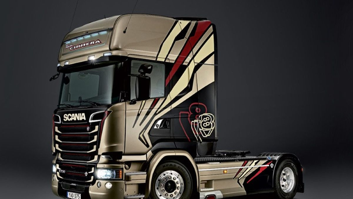 Scania V8 Ghost Sound V3
