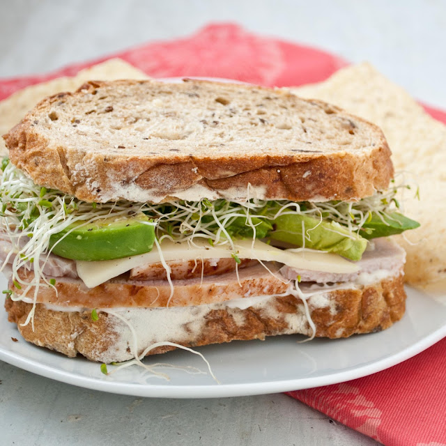 Turkey, Avocado, and Sprout Sandwich | Neighborfoodblog.com