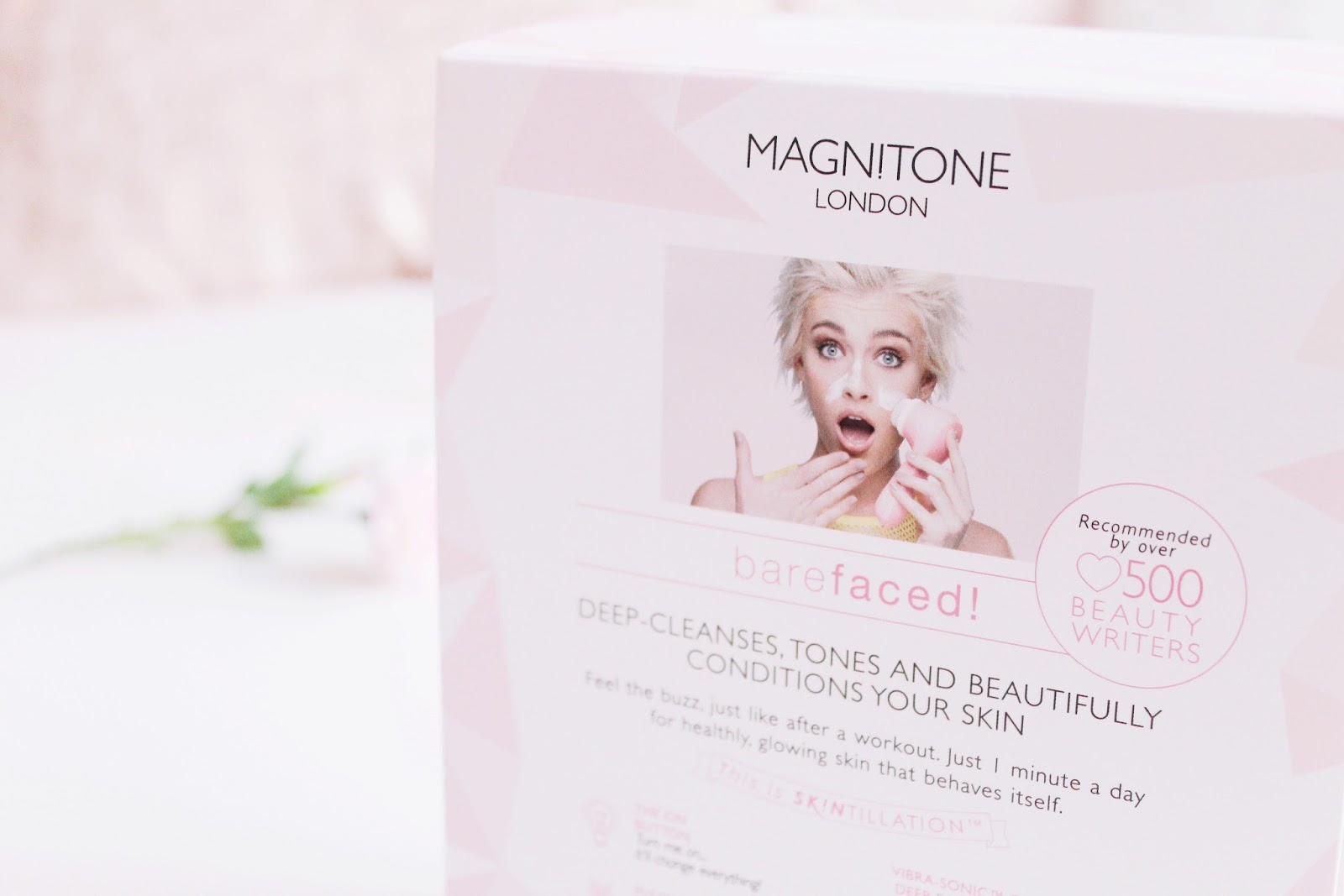 Barefaced Magnitone London Cleanser blog review