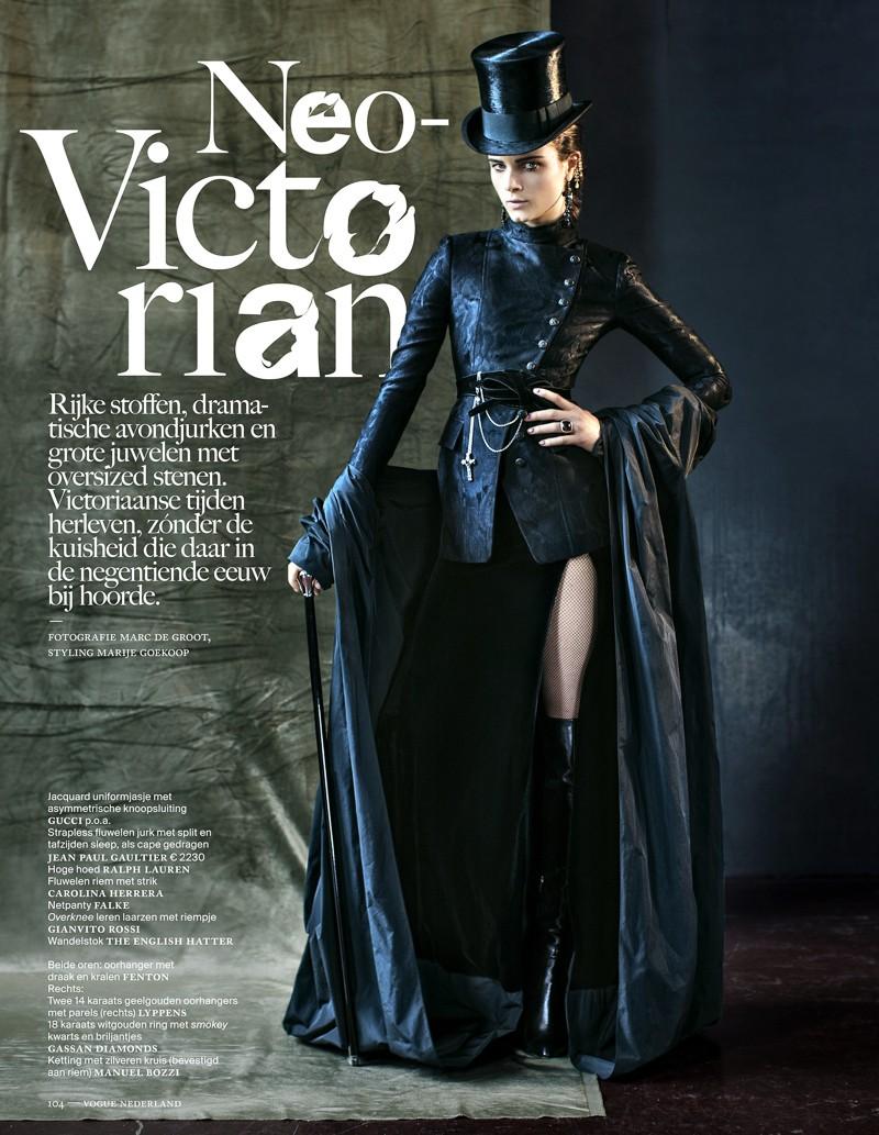 Avondjurken Le Couture.Shampalove Neo Victorian Vampire Queen
